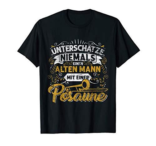 Musik Posaune T-Shirts -  Geschenk