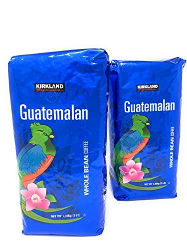 Kirkland Signature Guatemalan Lake Atitlan Whole Bean Coffee 2-3lb Bags