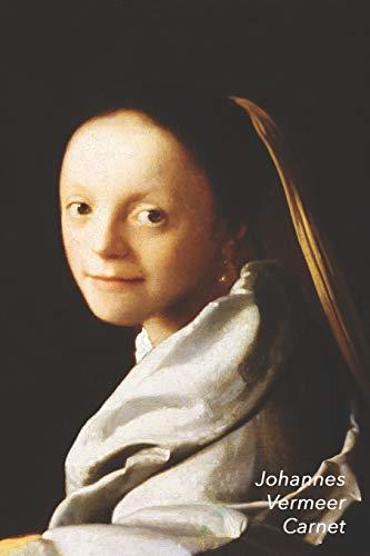 Johannes Vermeer Carnet: Portrait d'une Jeune Femme | Parfait pour Prendre des Notes | Beau Journal | Idéal pour l'École, Études, Recettes ou Mots de Passe