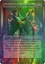 Sword of Feast and Famine - Casual Play Only - Customs Altered Art Foil