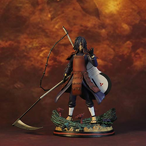 Anime Model Hand-Made PVC Decoration Crafts UchihaMadara Reincarnation, Can be Used as a Creative Birthday Gift for Friends Z-2020-7-20 image