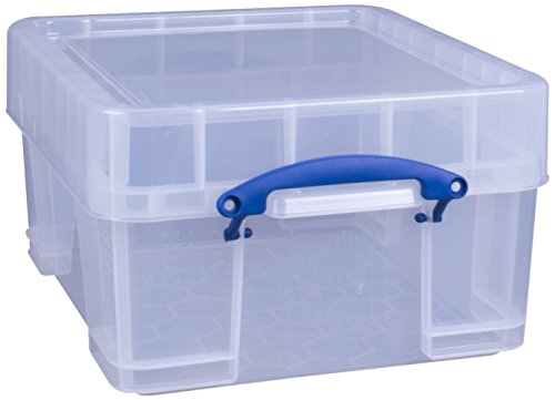 Really Use Box 18CXL Aufbewahrungsbox 18 Liter XL, transparent