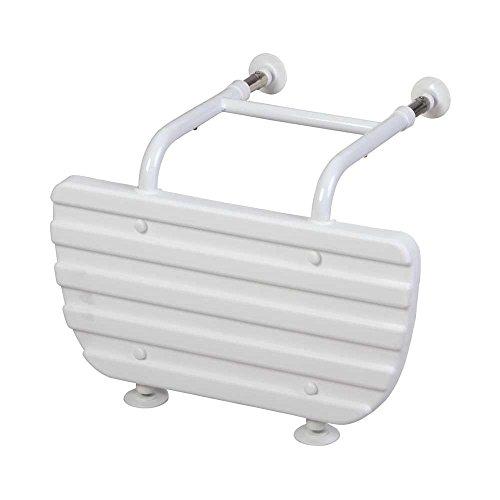 Behrend Badewannenverkürzer Extra Wannenverkürzer Badehilfe, verstellbar Saugnäpfe, weiß