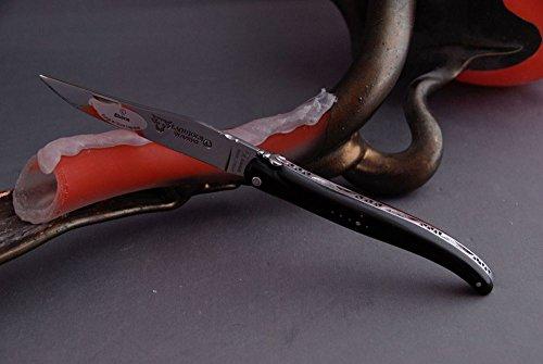 Taschenmesser Laguiole en Aubrac, PLEIN, Ebenholz, Handwerkskunst made in Frankreich