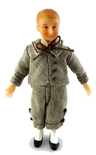 Miniature De Maison De Poupées Victorienne Personnages Joyeuse Réunion Garçon Nicholas Drummond
