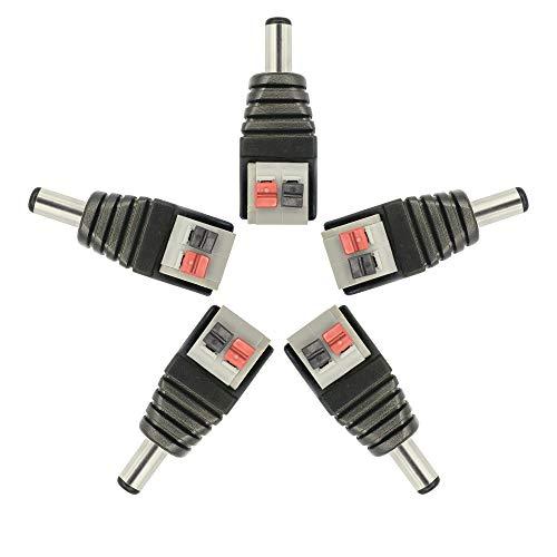 CERRXIAN Enchufe de Conector de alimentación de CC ,...