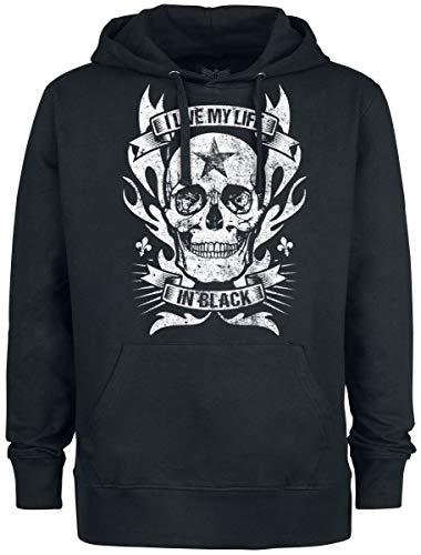 Black Premium by EMP Bodies Männer Kapuzenpullover schwarz XL