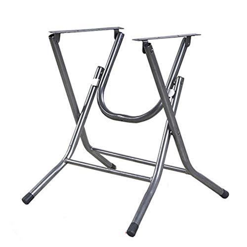 YHPD Fällbara bordsben metall skrivbordsram, matbord/datorskrivbord/läsbord stöd fötter, bärbar