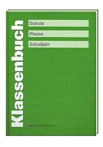 Klassenbuch, grün
