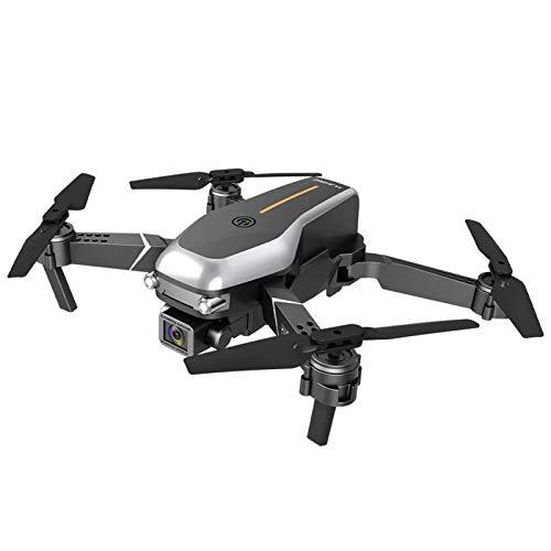 Drone Pieghevole, videocamera 4k Quadricottero RC Leggero FPV Aircraft 3.7V 800mAh Telecomando/Telefono/videocamera HD controllata da App Video One Ke