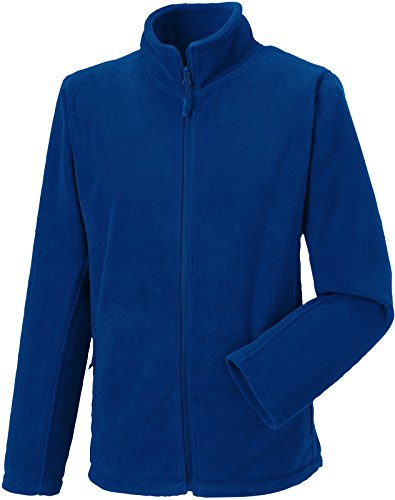 Russell Collection Fleece-Jacke R-870M-0, Farbe:Bright Royal;Größe:3XL 3XL,Bright Royal