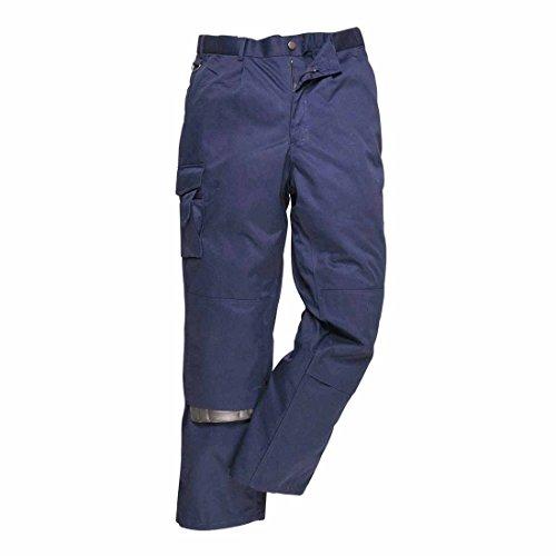 Portwest S987NARL Hose, mit mehreren Taschen, Regular, Größe L, Marineblau