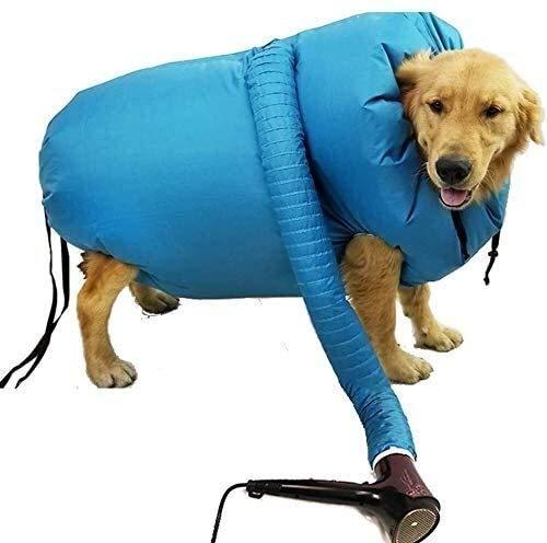DDL Secador de Mascota Perro, Protable rápido de Pelo Profesional de la Herramienta fácil del Ventilador Baja Mascota Ruido de Soplo y la Pelusa de baño y estética - Medium (Size : L)
