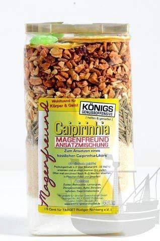 Magenfreund Ansatzmischung Caipirinha, 400g, zum Ansetzen, ohne künstl. Zutaten, Caipi-Likör, Likör selber machen - Bremer Gewürzhandel