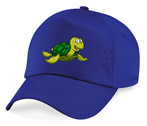 Cap - Schildkröte Cartoon Comic Freudig - Basecap für Herren - Damen und Kinder