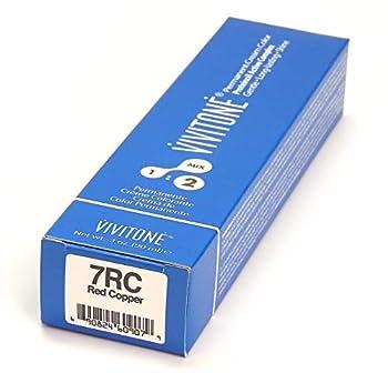 Vivitone Permanent Cream Color 7RC Red Copper