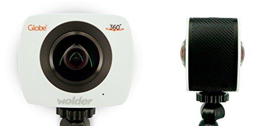 Wolder–Micam Globe–REGISTRAZIONE 360°, 1920x 96030fps, 4Megapixel, Wi-Fi)