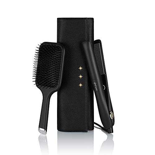 ghd gold. gift set xmas - Plancha de pelo profesional, tecnología dual - zone, negro (99350070805)