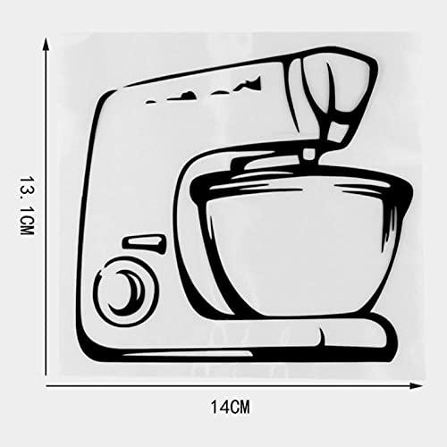 3 szt. naklejki na samochód 14 × 13,1 cm zabawny ekspres do kawy śmieszne kalkomania naklejka samochód, furgonetka, laptop, drzwi lub ściany idealne do przyczep kempingowych