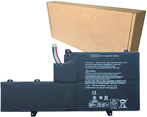 ASKC 11.55V 57WH OM03XL Replacement Laptop Akku für HP EliteBook X360 1030 G2 Series 863167-1B1 863280-855 HSN-I04C HSTNN-IB70 HSTNN-IB7O