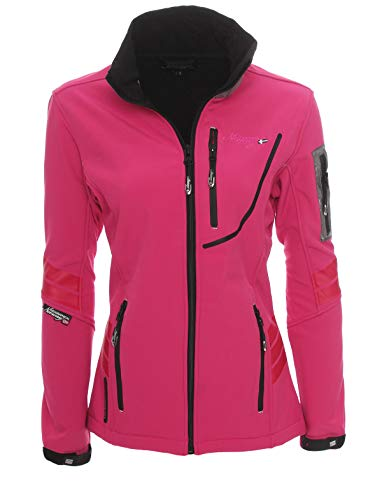 Geographical Norway Trophy Veste Polaire Femme, Flash Pink, FR : S (Taille Fabricant : 1)