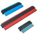 3 Pack Plastic Metal Profile Copy Gauge Contour Gauge Duplicator Standard Wood Marking