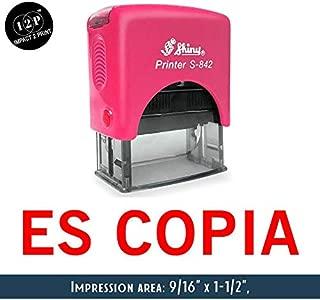 IMPACT2PRINT Brillante Sello De Goma Auto-Entintado S-842 CONFORME Oficina De Sellos De Negocios Personalizados Estacionarios