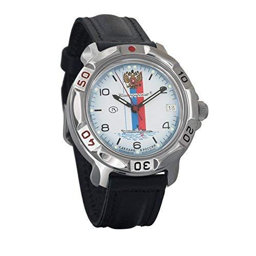 Vostok KOMANDIRSKIE 2414811330azul marino militar ruso reloj mecánico