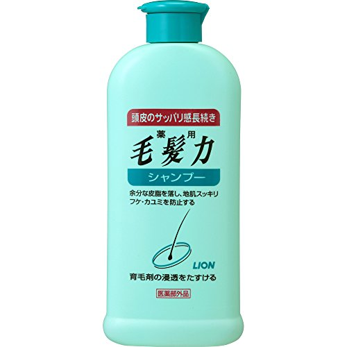 Lion PRO mouhaturyoku | Hair Regrowth Shampoo | 200ml (Japan Import)