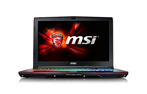 MSI GE62-6QD161 39,6 cm (15,6 Zoll) Laptop (Intel Core i7 -6700HQ (Skylake), 16GB DDR4 RAM, 1TB HDD, NVIDIA Geforce GTX 960M, Win 10 Home) schwarz