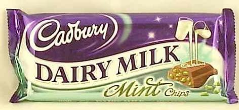 Cadbury Dairy Milk Mint Crisp Standard Bar (Irish) - 49g