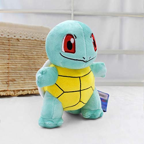 changshuo Juguete de Peluche 2020 Hot 7''18cm Squirtle Peluche Toys Kawaii Standing Squirtle Plush Toys Cartoon Anime Dolls Baby Toy Gift para Navidad