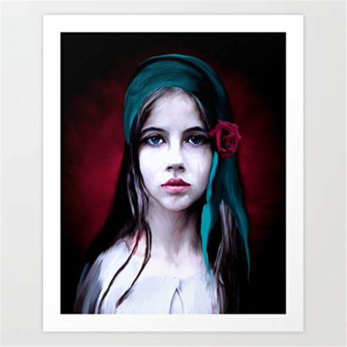 Diy oil painting by numbers Sexy girl Paint by Numbers Kits for Adults Children Seniors Junior Acrylics40x50cm no frame