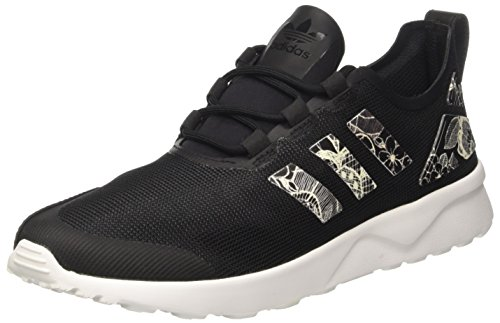 adidas BB2275, Scarpe da Ginnastica Basse Donna, Nero (Core Black/Core Black/Ftwr White), 39 1/3 EU