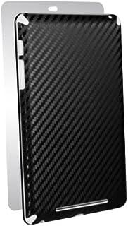 BodyGuardz 碳纤维护甲 耐用/超薄/时尚全身膜防刮保护 Google Nexus 7,黑色 (BZ-ACB72-0713)
