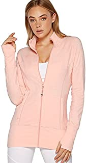 Lorna Jane Women's Louella Active L/SLV Zip Thru