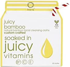 Kaia Naturals Juicy Bamboo Cleansing Cloths To-Go, 20 Count