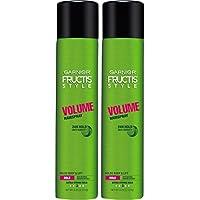 2-Count Garnier Hair Care Fructis Style Volume Anti-Humidity Hairspray