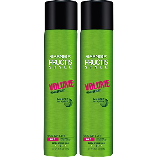 Garnier Hair Care Fructis Style Volume Anti-Humidity Hairspray, 2 Count (Hair Products For Fine Hair In Humidity)