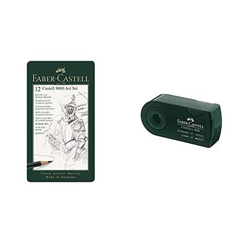 Sacapuntas Faber Castell Verde Marca Faber-Castell