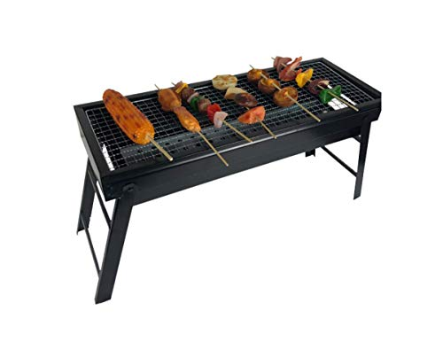 Sale!! TabEnter Outdoor Folding Large Charcoal Grill, Portable Picnic BBQ, Patio Grill, Suitable Fam...