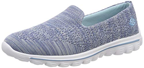 Dockers by Gerli Damen 44HE201-700600 Sneaker, Blau (Blau 600), 37 EU