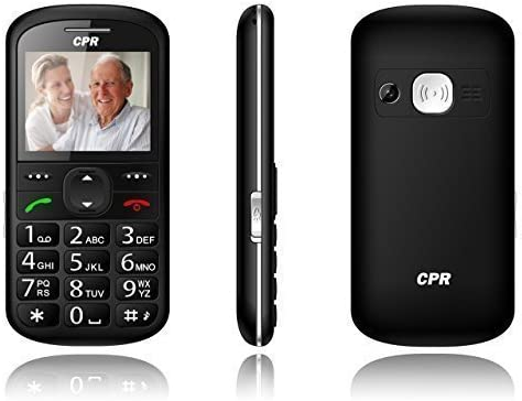 lowest CPR Call online sale Blocker CS600 Big Button Call Blocking Cell Phone - Unlocked GSM - outlet sale Senior Cell Phone - SOS Button - 2G T Mobile outlet sale