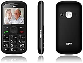 CPR Call Blocker CS600 Big Button Call Blocking Cell Phone - Unlocked GSM - Senior Cell Phone - SOS Button - 2G T Mobile