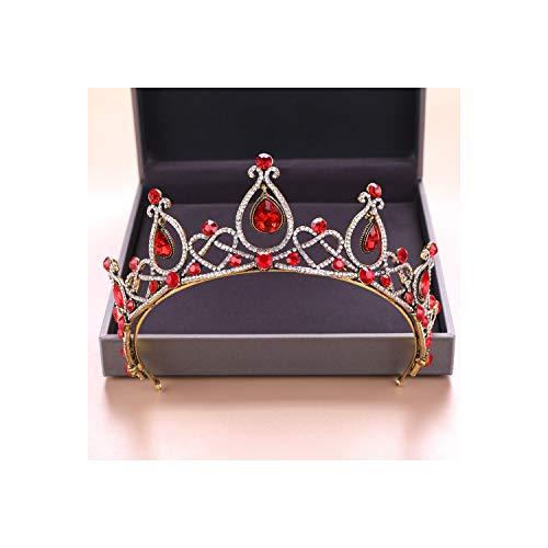 Nieuwe Bruiloft Haaraccessoires Crystal Tiara Voor Bruiden Kroon Goud Hoofd Stuk Bruids Haar Accessoires Stijl K