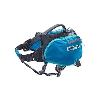 Outward Hound DayPak Blue Dog Saddleback Backpack Large