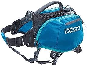 Outward Hound DayPak Blue Dog Saddleback Backpack, Large