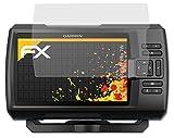 atFoliX Película Protectora Compatible con Garmin Striker Plus 7sv Lámina Protectora de Pantalla, antirreflejos y amortiguadores FX Protector Película (3X)