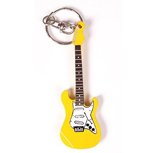 Gitarre Holz-Schlüsselanhänger mit Miniatur-Gitarre, die Flying V-Gitarre, Schlüsselanhänger in verschiedenen Formen, die sich der Form-Form, LP Gitarren-Form, Design 14, As Pic