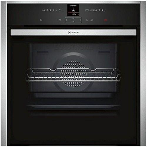 Neff B47CR32N0 - Horno (empotrable, eléctrico, A+, negro, acero inoxidable, panel táctil)